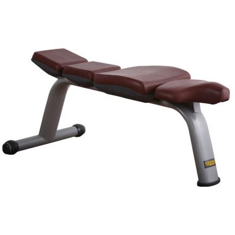 Flat Bench Free Weight Fitness Equipment Flat Bench T31 T Line Pin Loaded Fitness Equipment
