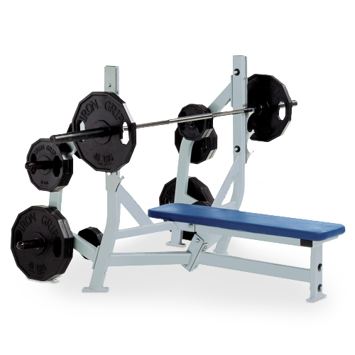 Fitness Equipment Parts: Olympic Bench Weight Storage,Plate Loaded Fitness